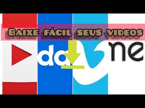 Como Baixar Videos Do Youtube Dailymotion Vimeo Gratis E Facil