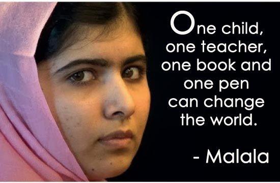 And Malala Did An Continues To Change The World I Am Malala Mesmerizing I Am Malala Quotes