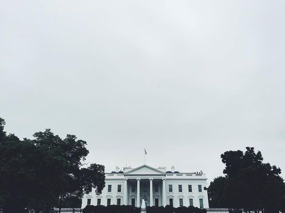 by @dlayphoto #WhiteHouse #USA Gloomy Day in DC #vscocam