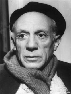 Picasso, Pablo Ruíz Pablo Ruiz Picasso (n. Málaga, España; 25 de octubre de 1881 - f. Mougins, Francia; 8 de abril de 1973), conocido como Pablo Picasso, fue un pintor y escultor español, creador, junto con Georges Braque y Juan Gris, del movimiento cubista.
