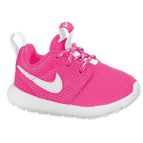 nike roshe run baby pink