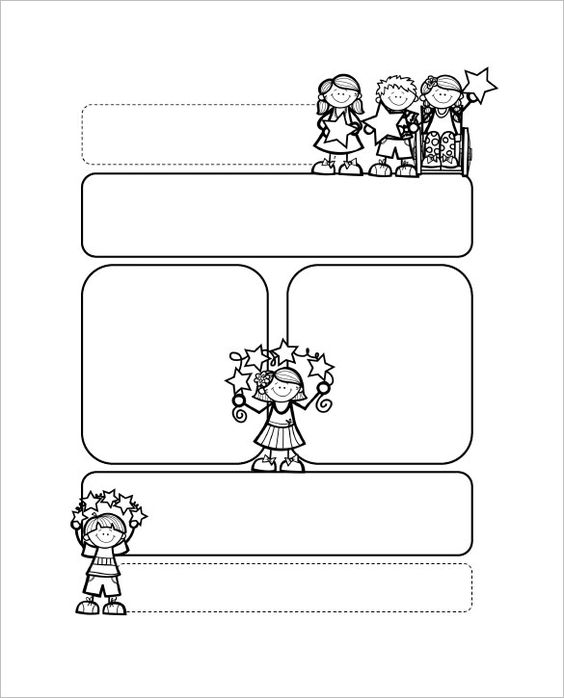 13+ Printable Preschool Newsletter Templates u2013 Free Word, PDF - newsletter template for word