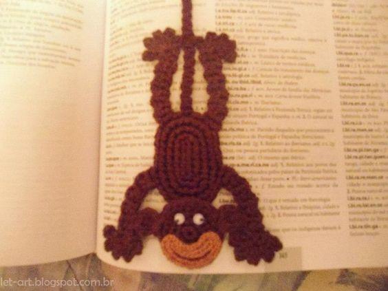 marcador de livros em crochet - Pesquisa do Google
