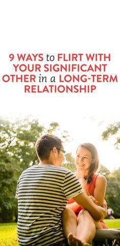 love flirting long term relationships