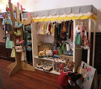 craft fair set up idea - love the tree
