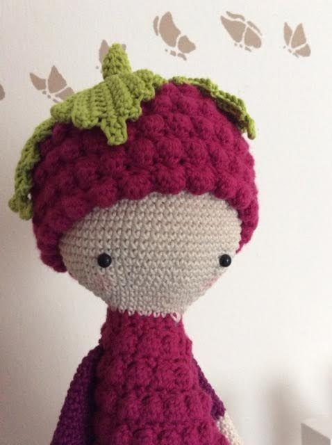 BERT the blackberry made by Maike F. / crochet pattern by lalylala
