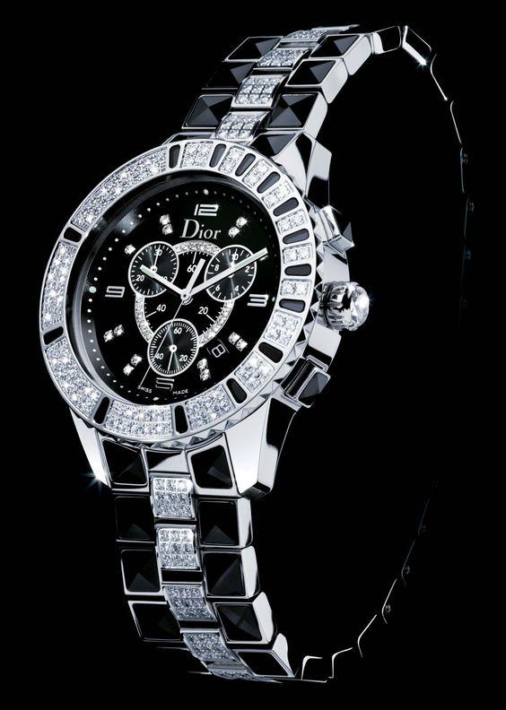 Dior Christal Chronograph Black