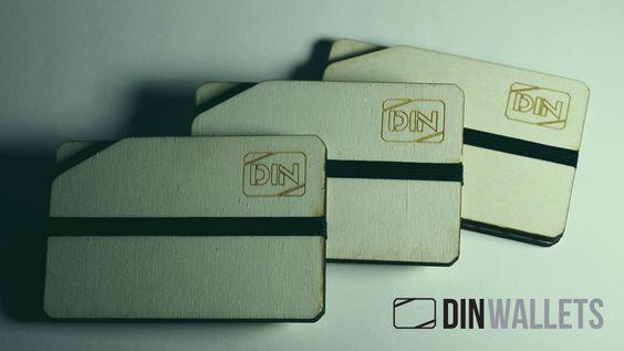 """A DIN WALLETS é a linha de carteiras que promete acabar com o """"Síndrome do Cartão Partido"""". Visita a nossa loja online em: http://dinwallets.com/"""