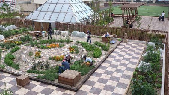 Resultado de imagem para jardim comunitário