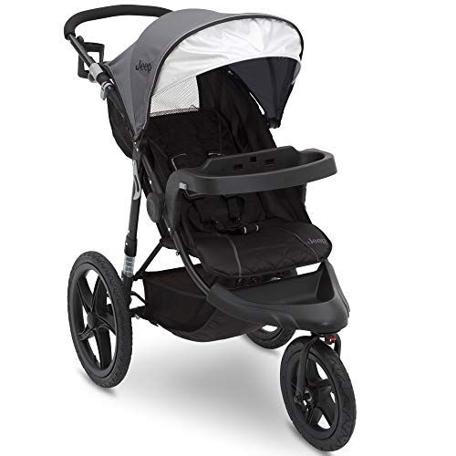 Jeep Classic Jogging Stroller Grey In 2020 Jogging Stroller