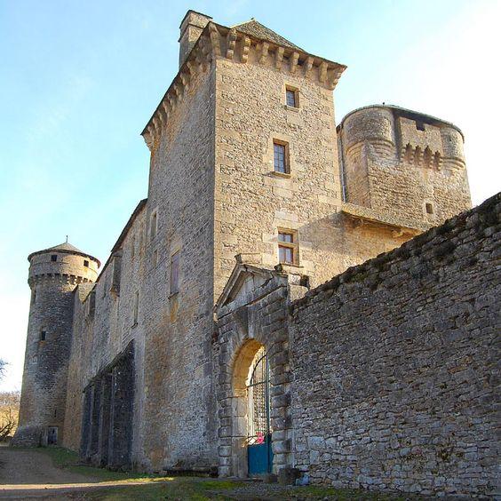 Château des Bourines 12310 Bertholène