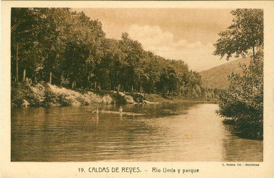 Caldas de Reis - río e parque do Umia