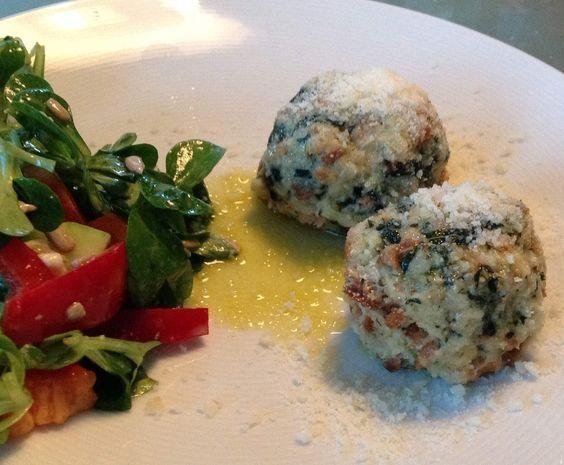 Rezept Spinatknödel von HeidiL - Rezept der Kategorie Hauptgerichte mit Gemüse: