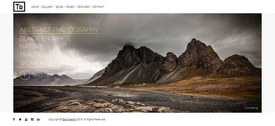 Trend Responsive #WordPress #Photography Theme http://www.themesandmods.com/premium-wordpress-themes/trend-2/