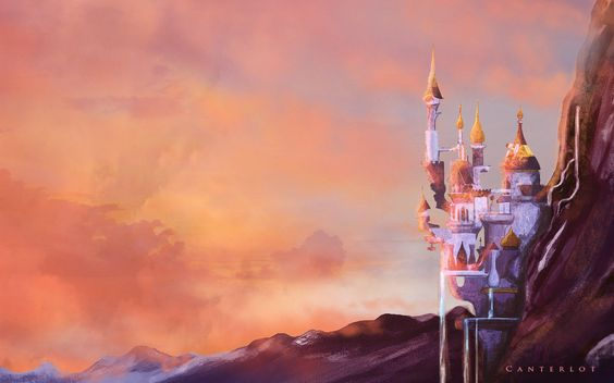 Canterlot sunset - wallpaper by CosmicUnicorn.deviantart.com on @deviantART