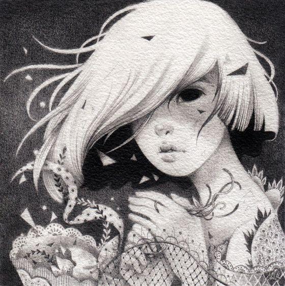 Image of ORIGINAL DRAWING: Kouko