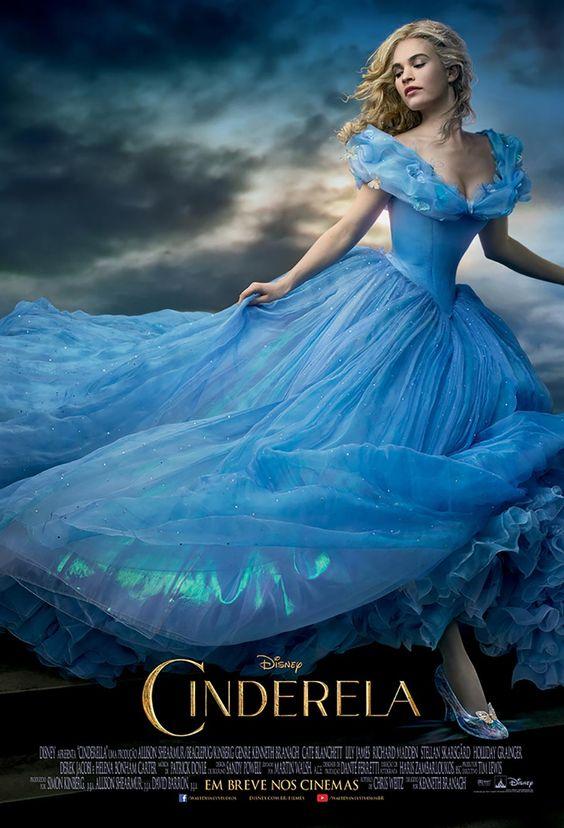 Cinderela - Foi emocionante ver uma refilmagem tão bem feita.