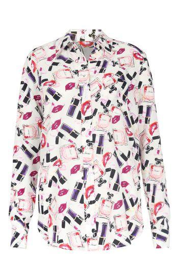 Jadicted Seidenbluse mit Print  bei myClassico - Premium Fashion Online Shop