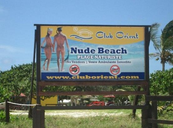 Orient Beach St Maarten Clothing Is Optional It Was The Highlight Of Jims Visit To