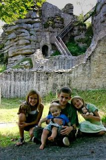 The Kids at Castle Ruins