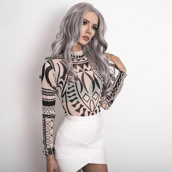 The sexy bodysuit in black & white color from @oksana_orehhova #sammydressreview Shop link in bio 💙  #sammydressfashion #fashion #style #croptop #white #lace #trend #summer #fashioninsta #love #chic #cute #ootd #ootw #giveaway #girly #shop #beauty #beach #dress #sefie #selfiegirl