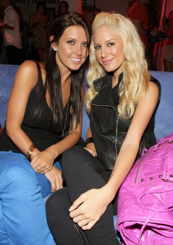 Pin for Later: Blast From the Past: The Casts of Laguna Beach and The Hills  Audrina Patridge and Heidi Montag lounged at an LA event in August 2008.
