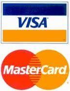 Aceptamos todas las tarjetas de crédito  y debito