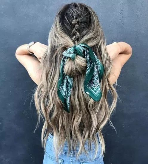 45 chіс summеr hairstyles wіth headscarves page- 22 | lifestylesinspiration.com