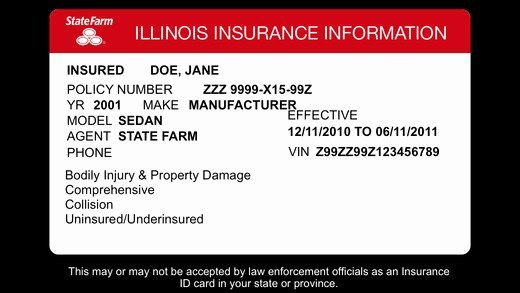 Blank Car Insurance Card Template Fresh 23 Of Michigan Auto Insurance Card Template Card Template Cards Templates