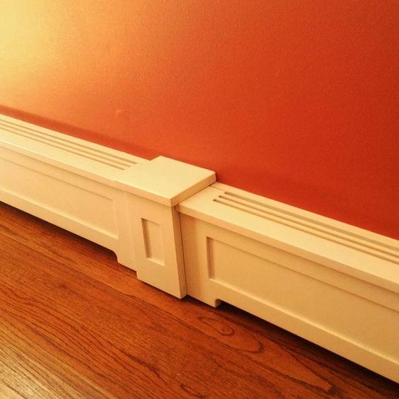 Custom Wood Baseboard Heater Covers Pinteres
