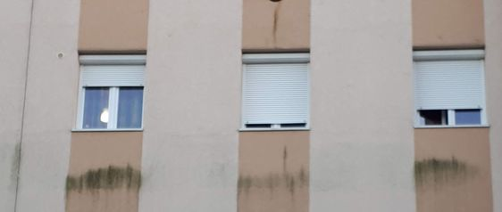 algás falfelület