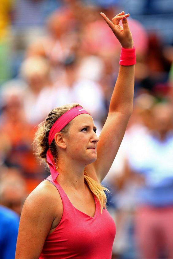 Victoria Azarenka US Open day 9 September 3-2013 US Open #WTA # ...