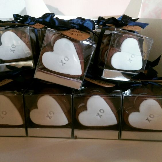 Hens party gift cookie boxes