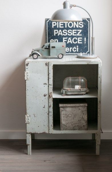 Brocante d co vintage industrielle brocante campagne lampe industrielle in - Decoration industrielle vintage ...