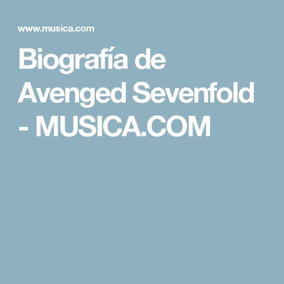 Biografía de Avenged Sevenfold - MUSICA.COM