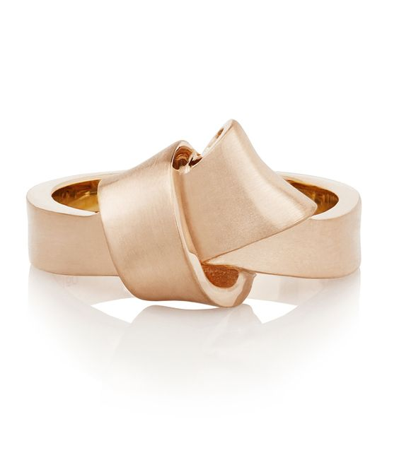 Carelle Rose Gold Knot Ring
