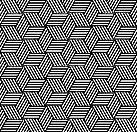 how to create a tessellation pattern