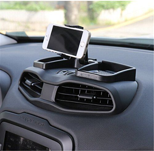 Zfproduct Car Inner Phone Holder 360 Degree Rotate With Abs