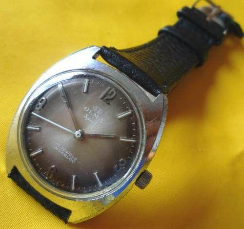 El reloj Olma que uso mi padre por muchos años.
