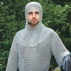 Butted Steel Chainmail Shirt 26-300170 - Buy from By The Sword, Inc.  225