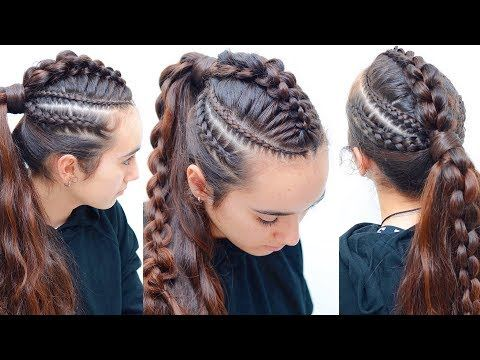 Jessica Is The Mother Of Trencita Who Has Beautiful Long Hair Together Girls Conquer Instagram With Crea Braids For Long Hair Braids Pictures Long Hair Styles