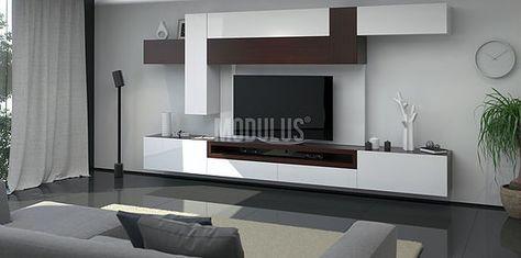 Modulares Para Living Tv Lcd Led Wall Unit Muebles Para Tv Racks Rack Modulares Muebles Para Lcd Wall Tv Unit Design Living Room Tv Wall Tv Unit Decor