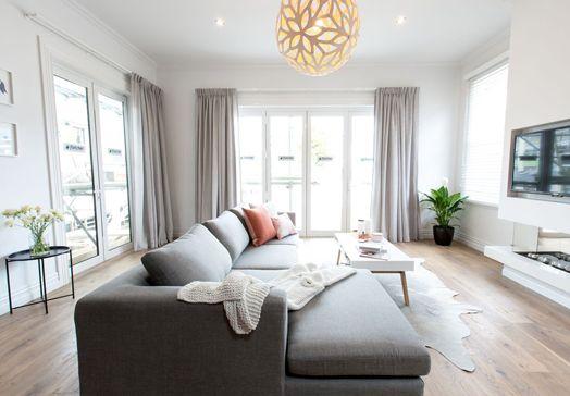Cush and Nooks: The Block Villa Wars   Living Room Reveal