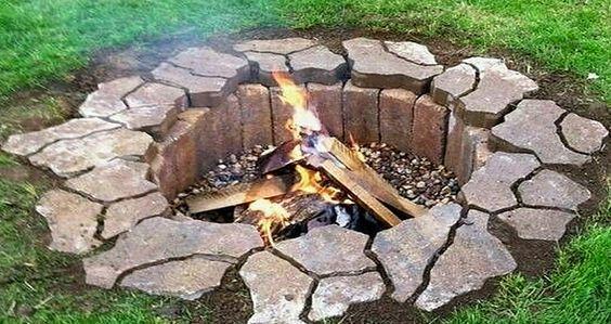 comment construire un foyer facilement et avec peu de mat riel foyers feu de bois et comment. Black Bedroom Furniture Sets. Home Design Ideas
