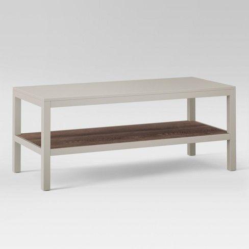 Hadley Coffee Table Threshold Target Coffee Table Coffee Table Grey Coffee Table Wood