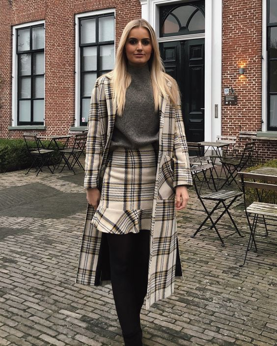 What Does The Editor Wear #20. 'Matching chic' in checks