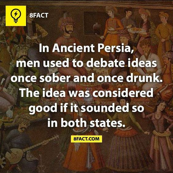 In Ancient Persia...:
