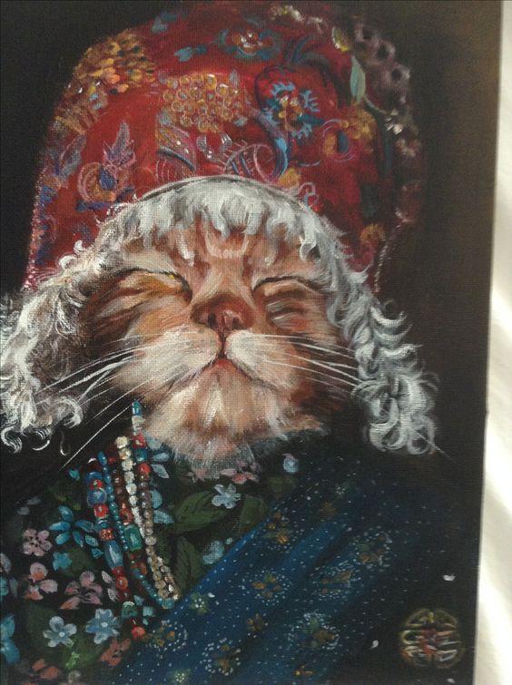 Серия кошки народов мира. Тибетская кошка