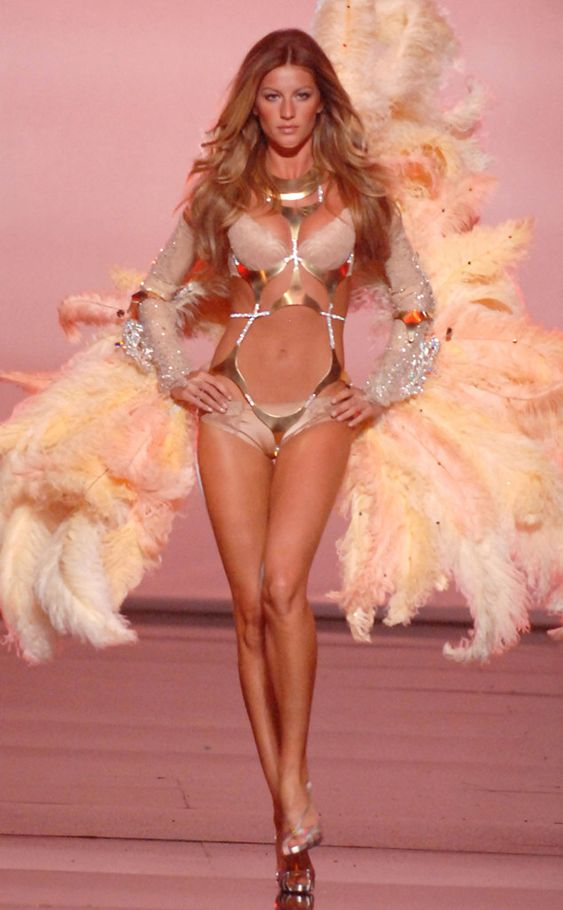Victoria's Secret Angel from Gisele Bündchen's Naked (and ...