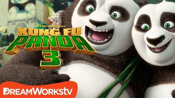 KungFuPanda 3 starring Jack Black, Angelina Jolie, Dustin Hoffman ...